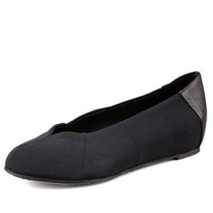 Eileen Fisher grosgrain leather ballet flats 7